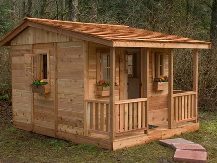 DIY Playhouse From Pallets Pallet Playhouse Plans