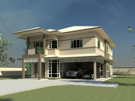 Double Storey House Design Beautiful Double Storey House Plans