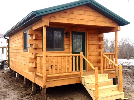 Finished Portable Cabins Portable Cabins Built in Wisconsin