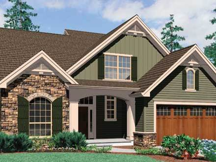 French Country Cottage House French Cottage Style House Plans