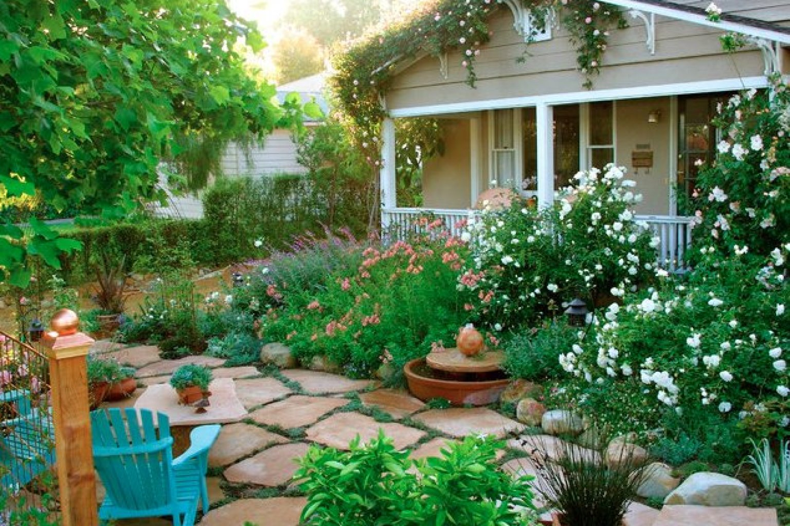 Front Yard Cottage Garden Ideas Cottage Style Yards