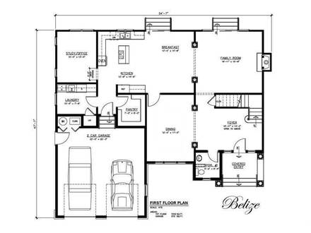 House Layout Construction Home House Plans