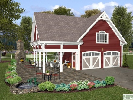 House Plans with RV Garage House Plans with Garage