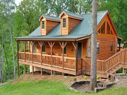 How to Build a Log Cabin Yourself How to Build a Deck