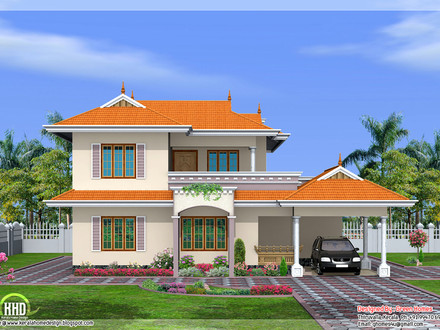 Indian Style House Design Bungalow House Designs