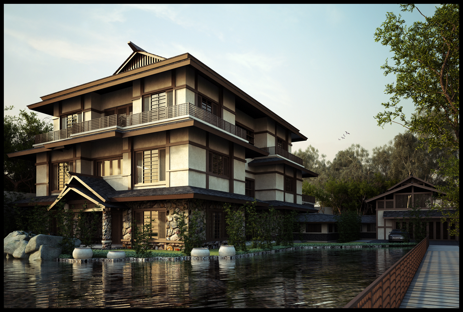 Japanese Style House Design Japanese Furniture For Homes