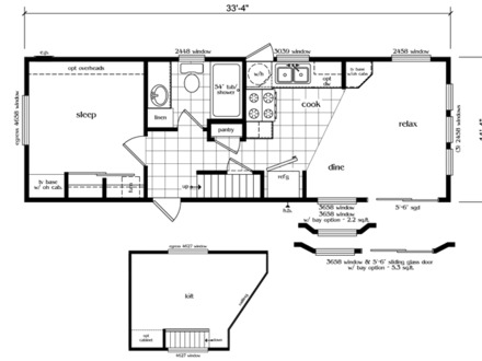 Cottage house plans with loft cottage house plans with for 4 bedroom loft floor plans