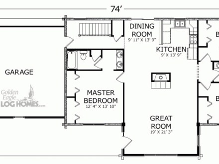 Log Cabin Ranch Floor Plans Texas Ranch Cabin Plans