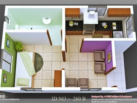 Micro Homes Living Small Floor Plans Small Home Plan House Design