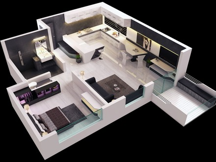 Modern One Bedroom House Plans Modern Bungalow House Plans