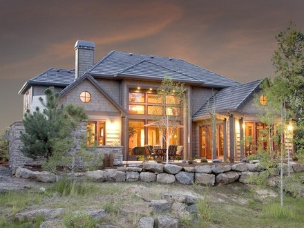 Modern Rustic Home Exteriors Lodge Style Home Exteriors
