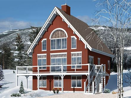 Mountain Chalet House Plans Small Chalet House Plans