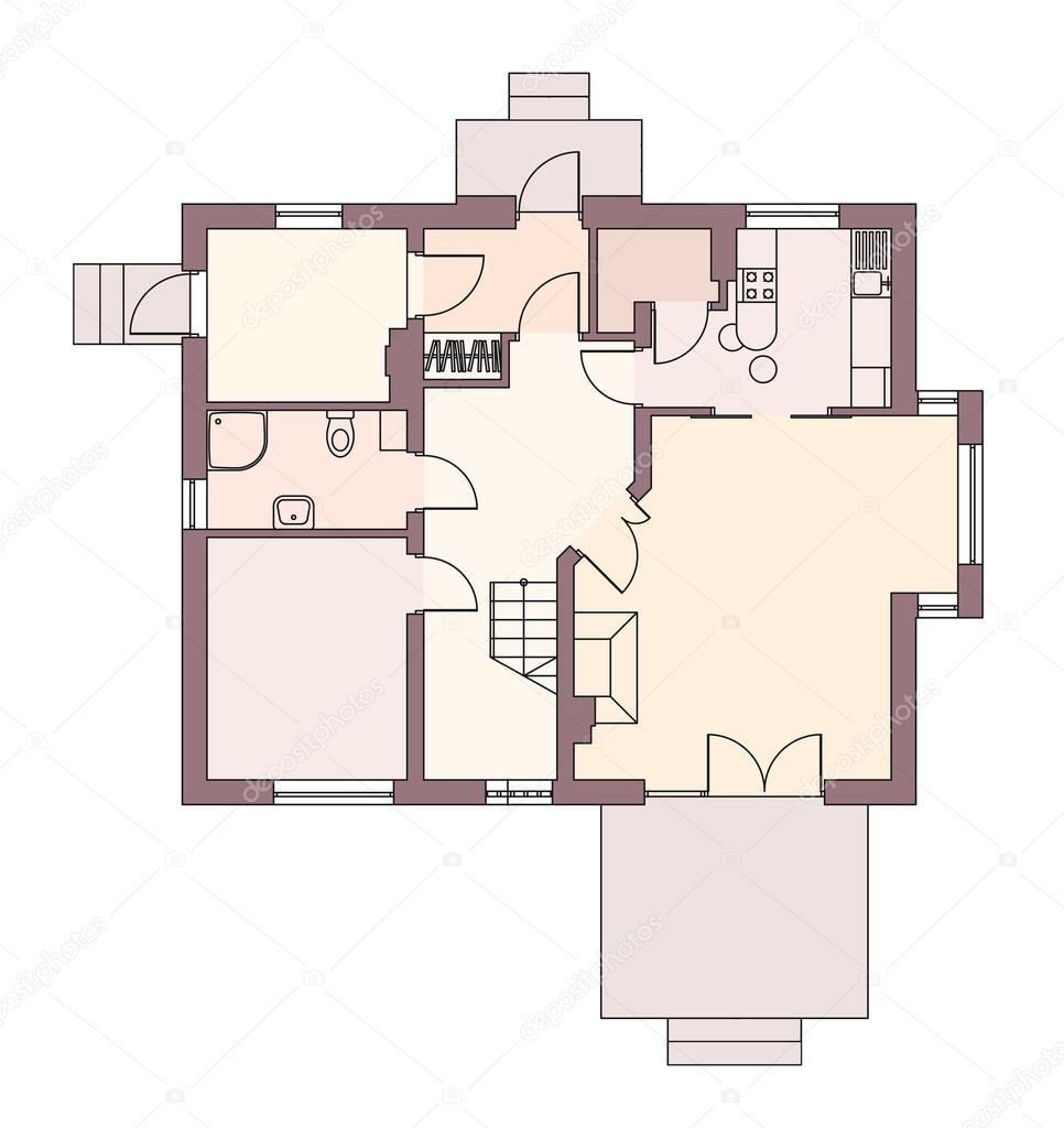 Mountain house plans architectural designs architectural for Mountain architecture floor plans