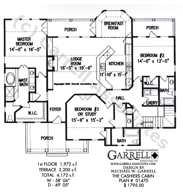 Off grid cabin floor plans cabin house floor plan for Vacation cabin floor plans