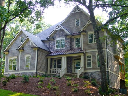 One Story Craftsman Style House 2 Story Craftsman House Plans