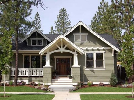 One Story Craftsman Style House One Story Craftsman Style Home Plans