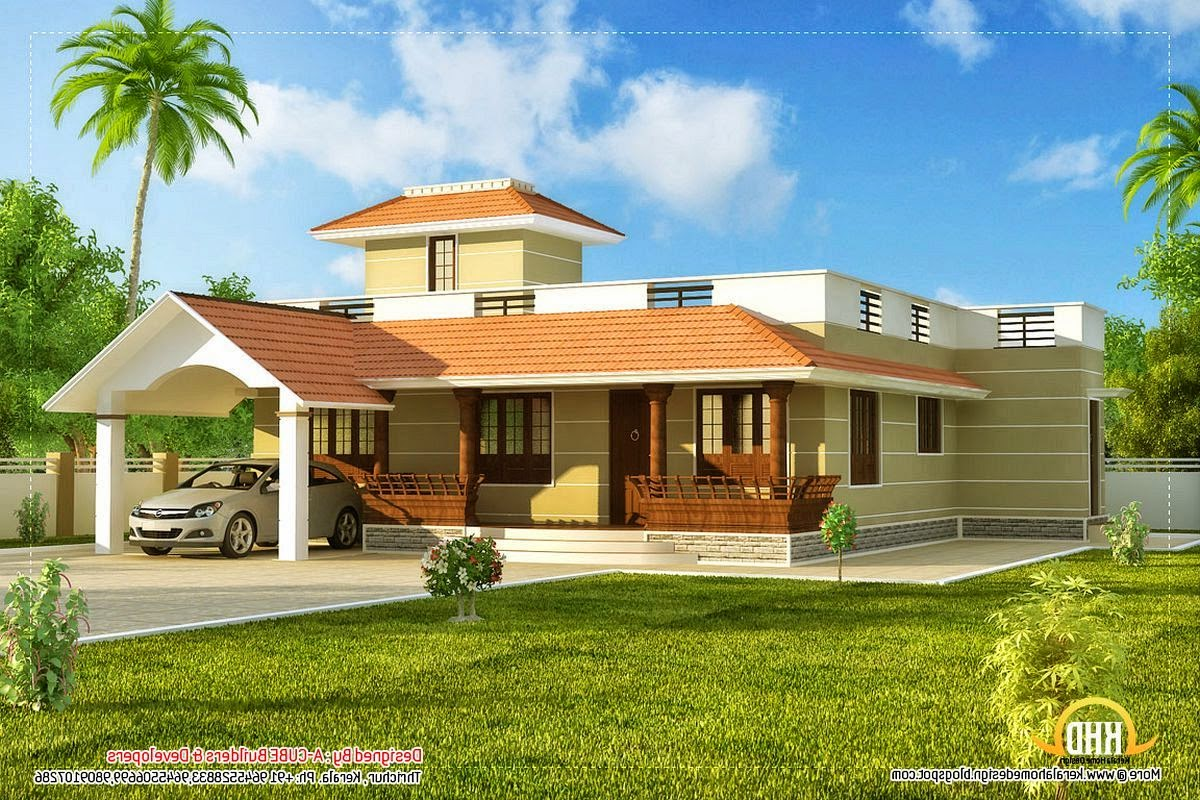 One story home designs one story home exterior designs for One level house exterior design