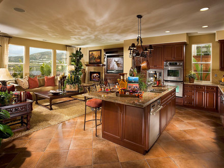 Open Concept Kitchen Plans Open Kitchen Great Room Designs