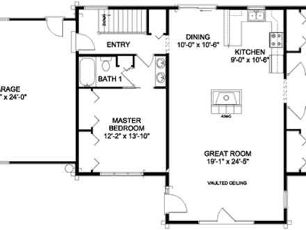Ranch House Additions Small Ranch House Floor Plans
