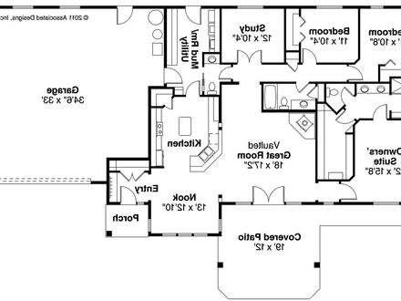 Ranch House Plans Open Floor Plans Ranch House