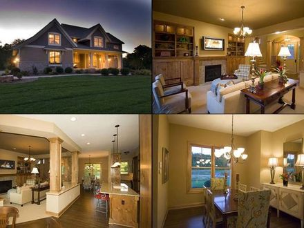 Ranch Style Homes Craftsman Interior Craftsman Home Plans Inside home designs Pinterest