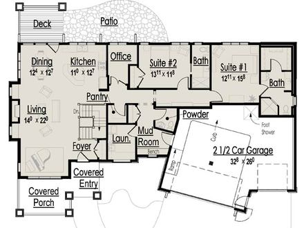 Retirement Home Design Plans Home Plans for the Ages