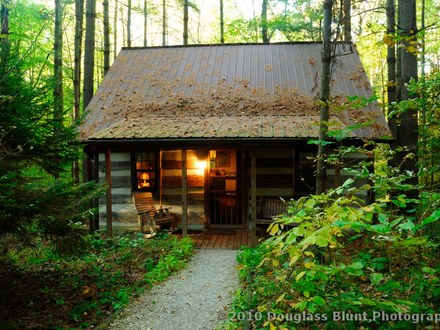 Rustic Log Cabin Cabin Plans