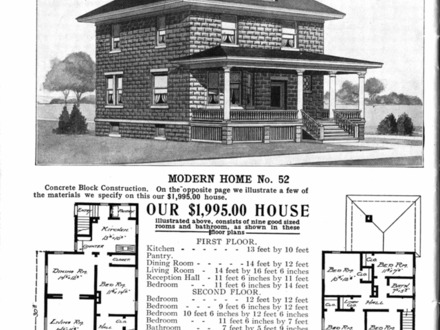 Sears American Foursquare House Plans 1900 Craftsman Foursquare Houses Images