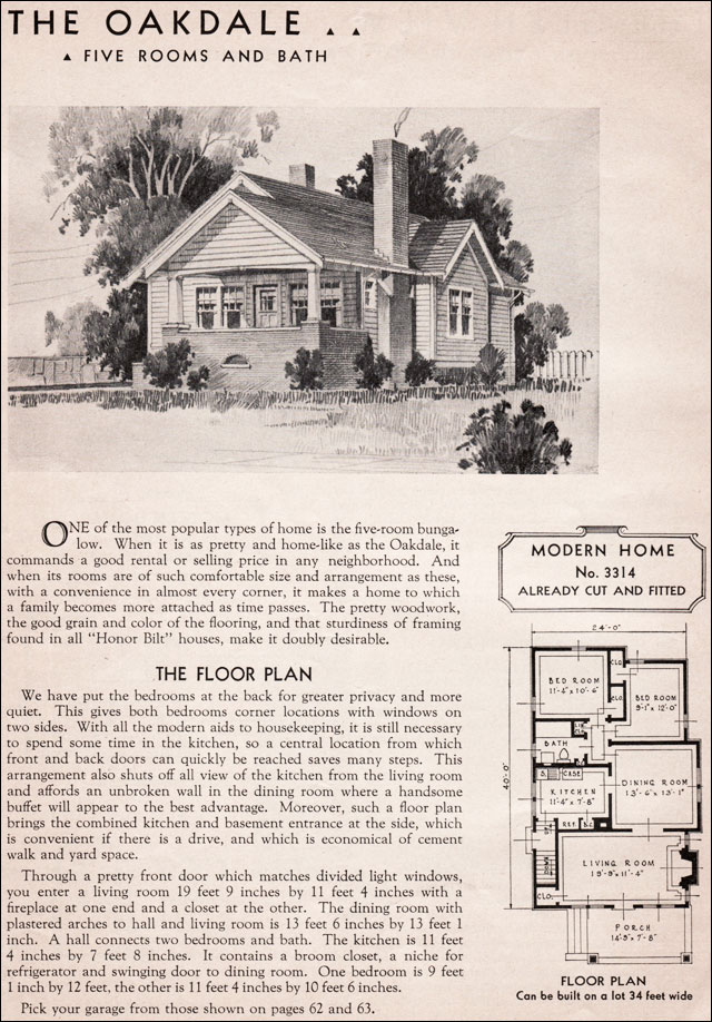 Sears roebuck bungalow house plans sears and roebuck for 1930s house plans