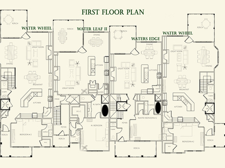 Second Empire Style Homes Federal Style Home Floor Plans