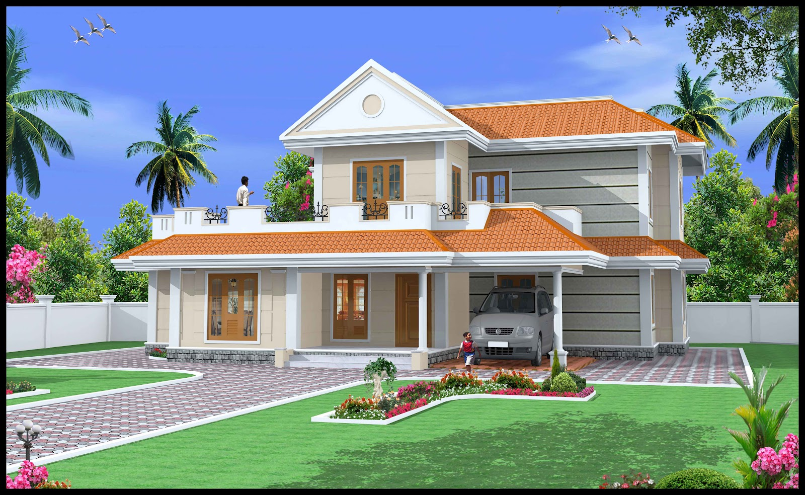 Simple duplex house design indian duplex house designs for Duplex house models
