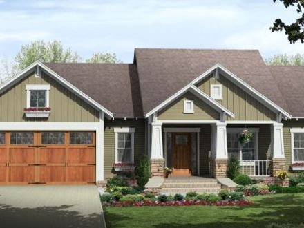 Single Story Craftsman House Plans Home Style Craftsman House Plans