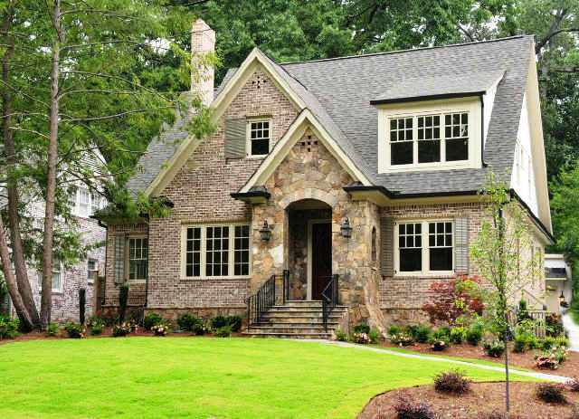 Small Brick Cottage Style Homes Cottage Style Homes Brick and Stone