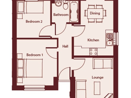 Small Bungalow House Plans Bungalow Floor Plan