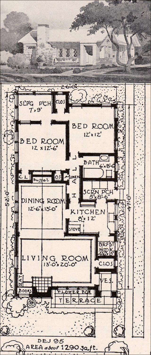 Small California Bungalow House Plans Old Bungalow House ...