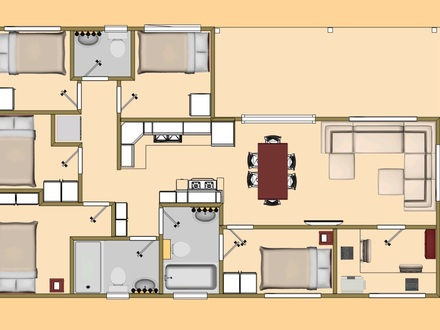 Small Home Plans Under 800 Sq FT Simple Small House Floor Plans