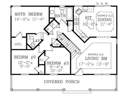 Small House Floor Plans with Basement 3D Small House Plans