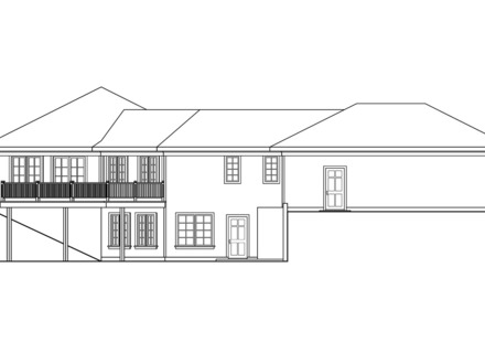 Small House Plans Traditional House Plan Treyburn 10 497 Left Elevation