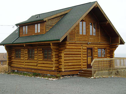 Small Log Cabin Interiors The Aylesford log cottage Log home plans by Heartwood Log Homes