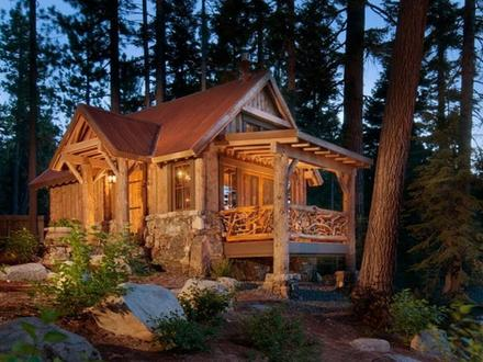 Small Log Cabins and Cottages Inside a Small Log Cabins
