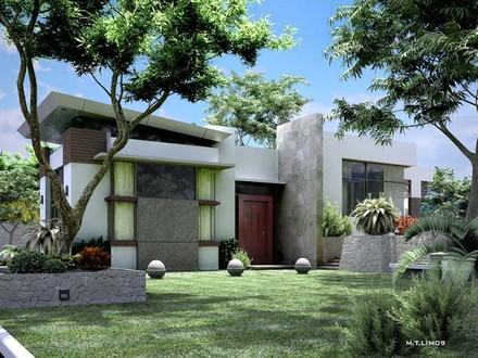 Small Lot Modern House Designs Modern Bungalow House Designs Philippines