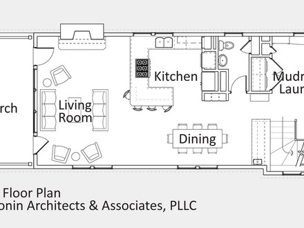 Small Modular Homes Floor Plans Cottage Open Floor Plan Design