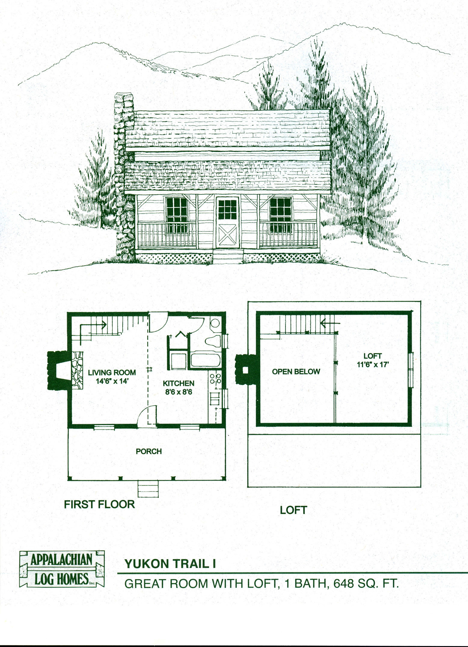 Small modular homes floor plans small cabin floor plans for Small modular home designs