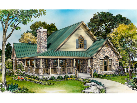 Small Rustic House Plans with Porches Small Country House Plans