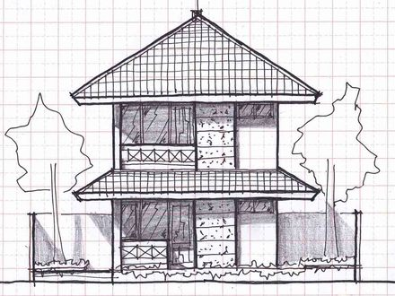 Small Two Story House Plans Two-Story Modern House