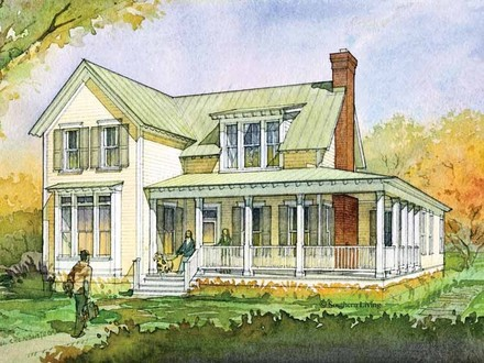 Southern Living House Plans Farmhouse One Story House Plans Southern Living