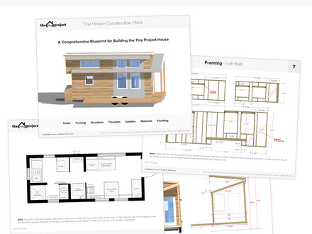 Tiny House Floor Plans PDF Inside Tiny Houses
