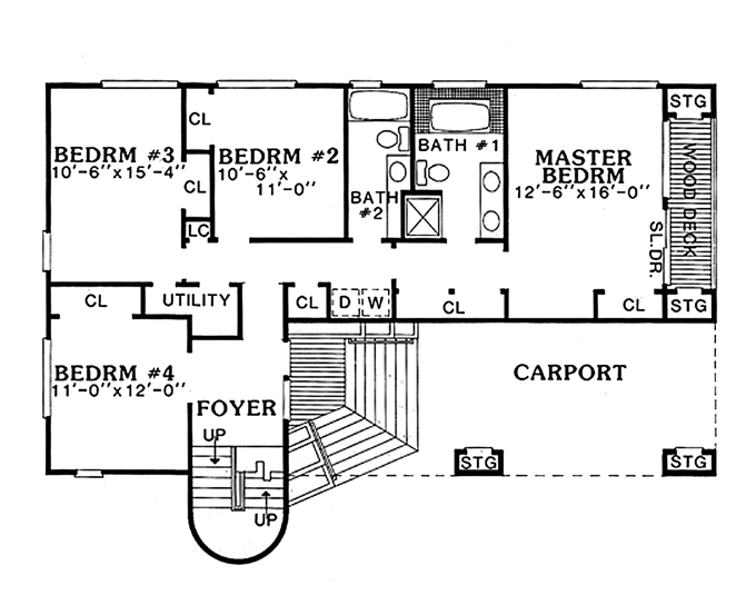 Upside down house floor plan upside down house myrtle for Inverted beach house plans