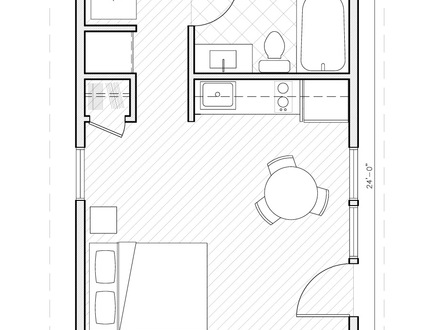 1 Bedroom House Plans Under 1000 Square Feet 1 Bedroom Cottage House Plans