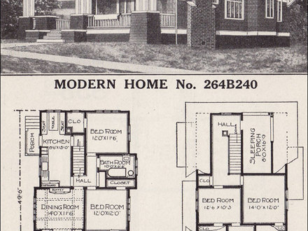 1930s Sears Bungalow 2 Bedroom Sears Craftsman Bungalow Home Plans